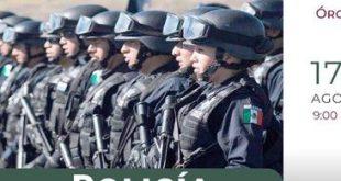 ¿Buscas empleo? Realizarán reclutamiento de policías en Hidalgo