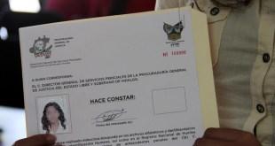 Alerta PGJEH por fraude con constancia de no antecedentes penales