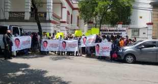 Morenistas se manifiestan para que Francisco Xavier no sea candidato