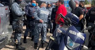 Detienen a sujeto por detonar arma en bar de Santiago Tulantepec