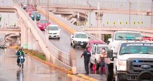 Tres autos accidentan Río de las Avenidas