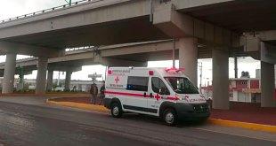 Cae una persona del puente de Tellez tras derrapar en moto