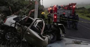Accidente Tepeapulco-Cuautepec muerto heridos