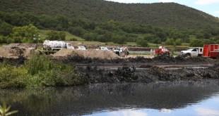 Concluye Conagua acción por derrame en Tetepango