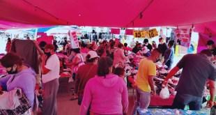 Instalan 900 puestos tianguis Tlahuelilpan