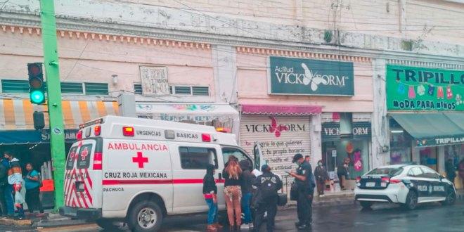 En Pachuca, agreden a sujeto con un martillo durante riña