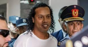 Ronaldinho liberado Paraguay