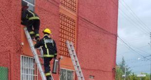 incendio departamento Pachuca lesionados