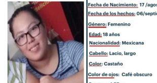 Se busca a Arely Hidekel Cruz Hernández, extraviada en San Felipe Orizatlán