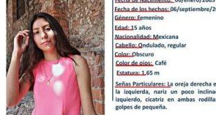 Buscan a Jessica Esperanza; tiene 15 años y se extravió en Pachuca