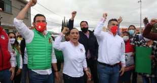 Presidente nacional del PRI respaldó a Israel Félix Soto