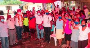 Joel Nochebuena visitó pobladores Ixtacuatitla