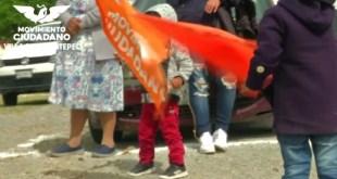 Niños asisten mítines campañas electorales