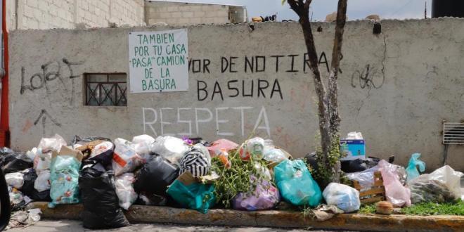 Habrá tres turnos de recolección de basura en Pachuca