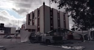 Patrullas quemadas en Tlahuelilpan se irán al basurero