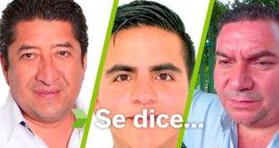 Se dice... que Francisco Mayoral, Manuel Rivera y Fernando Munive