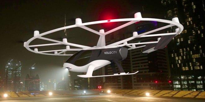 París pruebas taxis voladores 2021