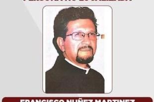 Buscan a párroco de Tecámac; se extravió el 26 de octubre