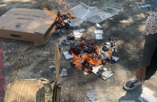 Confirma IEEH quema de boletas y material electoral en Pacula