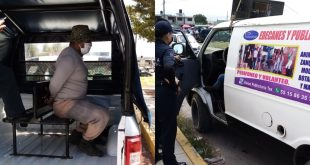 Arrestan a seis por realizar perifoneo sobre contagio de Covid en Pachuca