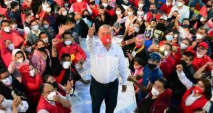 5 mil ciudadanos cierra Jorge Márquez campaña