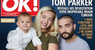 Enfrenta Tom Parker batalla contra tumor cerebral terminal