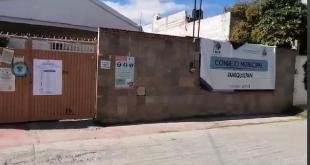 Por temor, cierran oficinas del Consejo municipal del IEEH en Ixmiquilpan