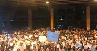 Priistas toman consejo electoral Jaltocán