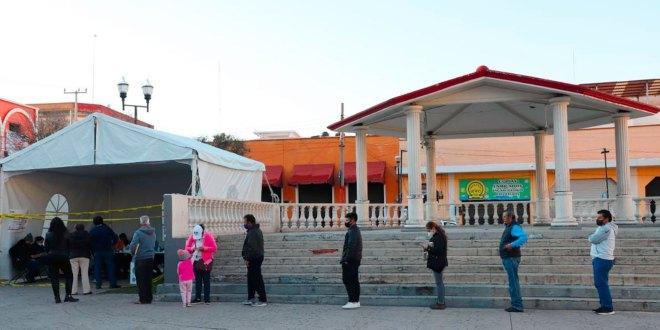 Flujo votantes Pachuca sin contratiempos
