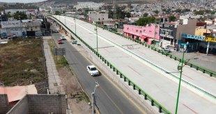 Trabajos distribuidor vial bulevar Colosio continúan Sopot