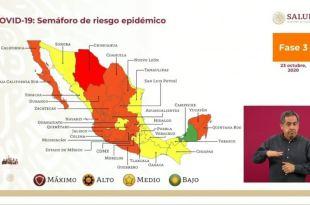 Tras elecciones Hidalgo mantiene semáforo naranja