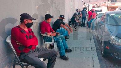 Se forman desde viernes para ficha de vacuna en Pachuca
