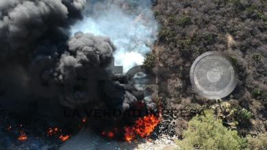 Se incendia basurero en Pachuca
