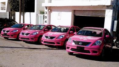 Plantean implementar los taxis rosas en Hidalgo