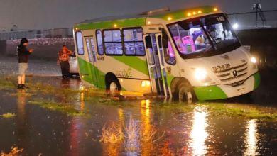 incidente vial inundaciones dejó lluvia martes