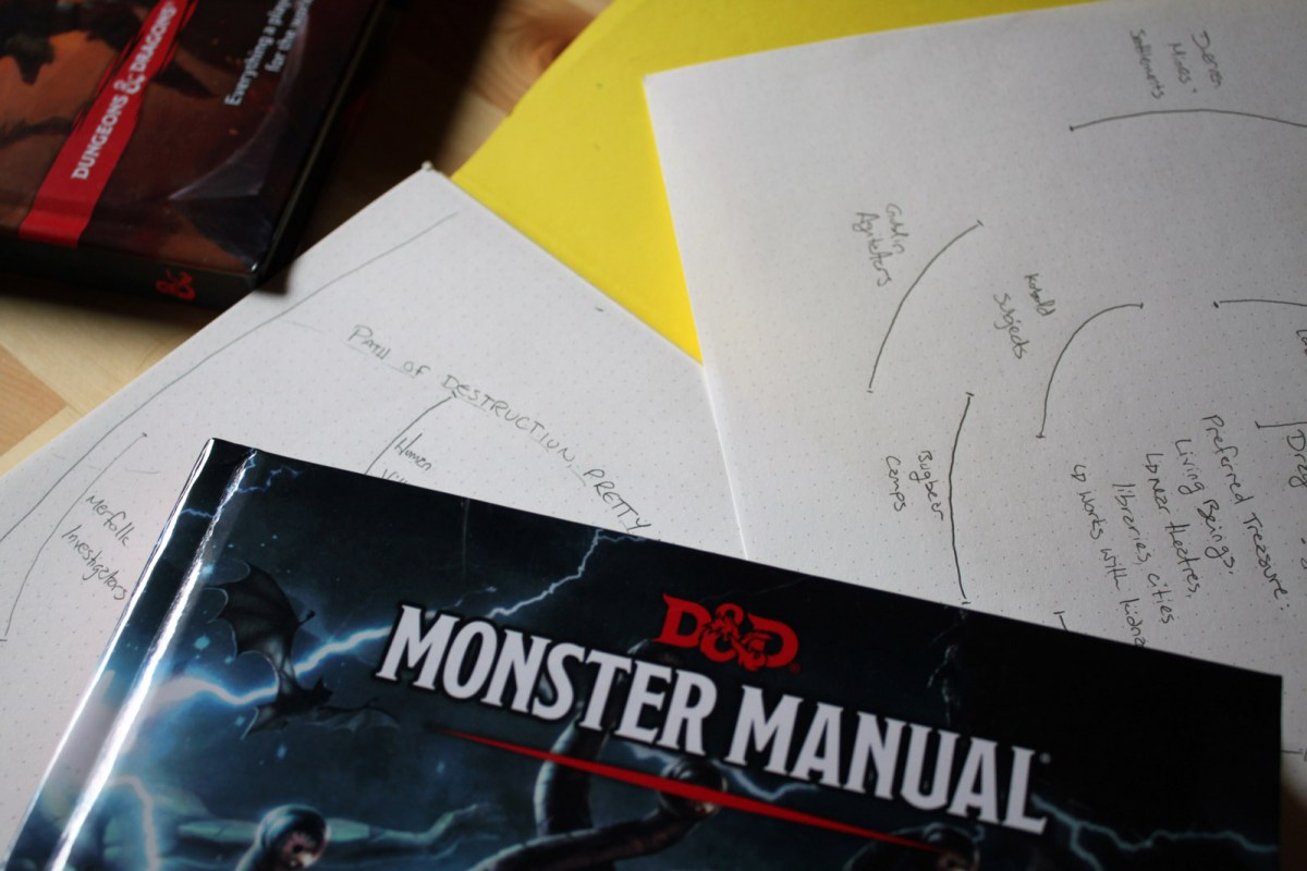 """Target Mapping your Monsters: Worldbuilding via the """"Monster Manual"""""""