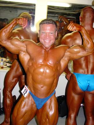 Bodybuilder Troy Moore