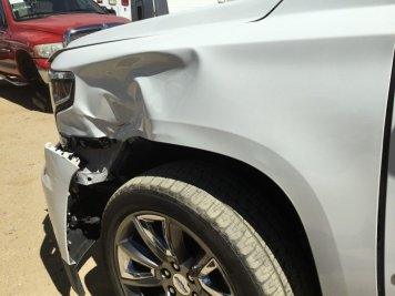 auto body repair before