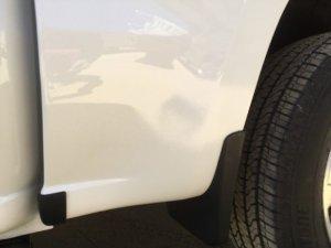 2019 Chevy Silverado truck body/bed repair