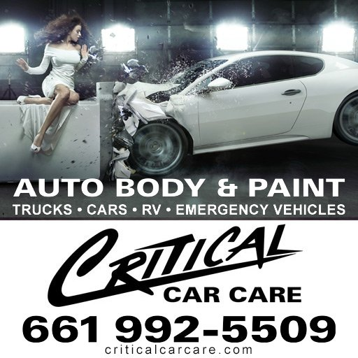 Critical Car Care auto body repair and paint Lancaster, CA