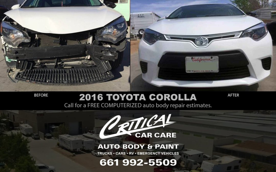 Crash on the 405? You need Auto Body Repair & Paint!