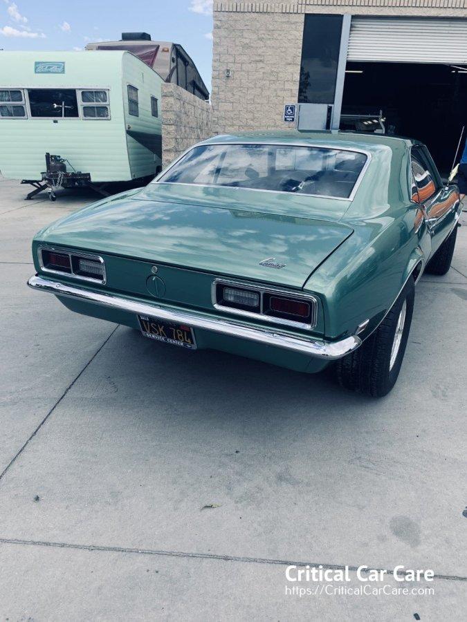 auto body paint 1968 Camaro
