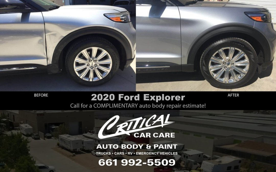 Ford Explorer Auto Body & Paint – Before/After pictures