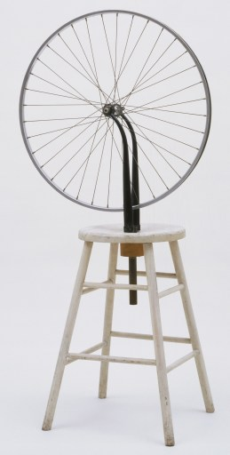 Marcel Duchamp-Bicycle Wheel, New York, 1951 (third version, after lost original of 1913), MoMA