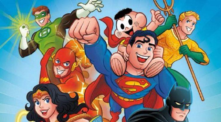 HQ da Turma da Mônica terá crossover com a Liga da Justiça