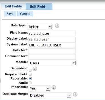 Sugarcrm Relate Field Vs 1 2 Many Relationship Criticallog