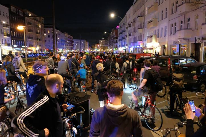 CM Berlin, April 2017 Rote Ampel in der Danziger