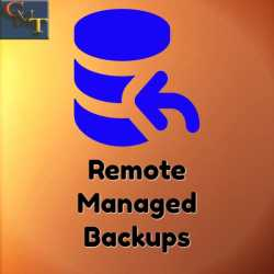 CMT Remote Managed Backups