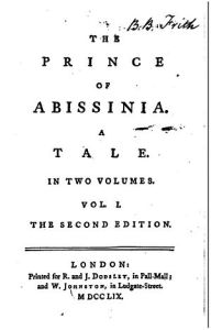 Rasselas, by Samuel Johnson