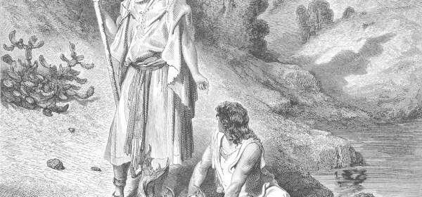 Gustav Dore - Raphael and Tobias
